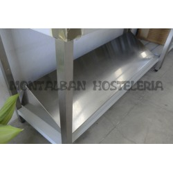 Estanteria de pared inox