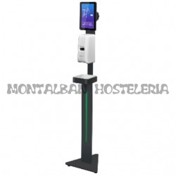 Dispensador de Gel automatico con pie y Tablet