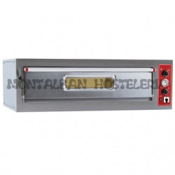 Horno electrico 6 pizzas 33 cmØ ENTRY MAX 6