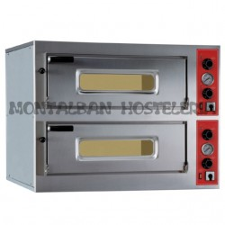 Horno electrico 8 pizzas 33 cmØ ENTRY MAX 8